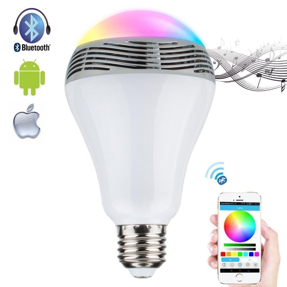 Лампочка bluetooth динамик Bulb