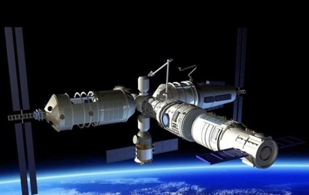 Китай потерял контроль над орбитальной станцией