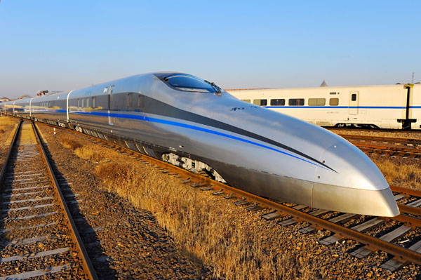 В Китае разрабатывают поезд, способный разогнаться до 600 кмч