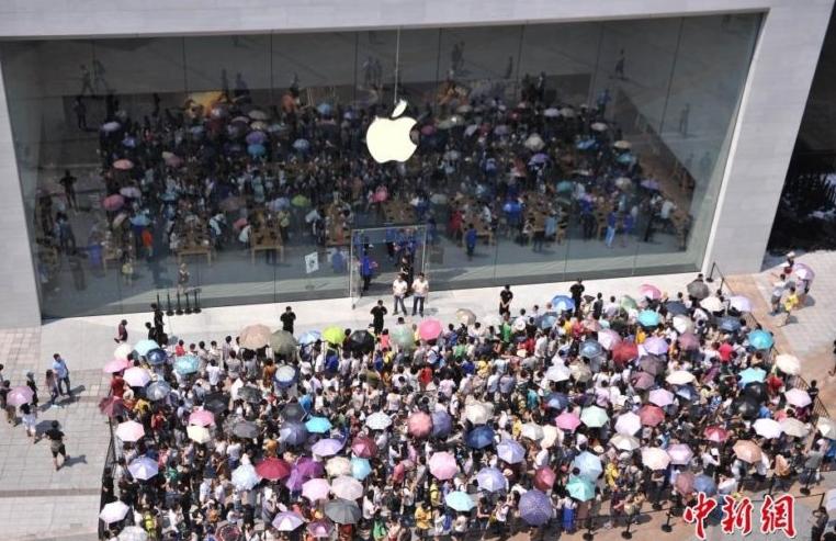 Как iPhone 7 Китай покорял